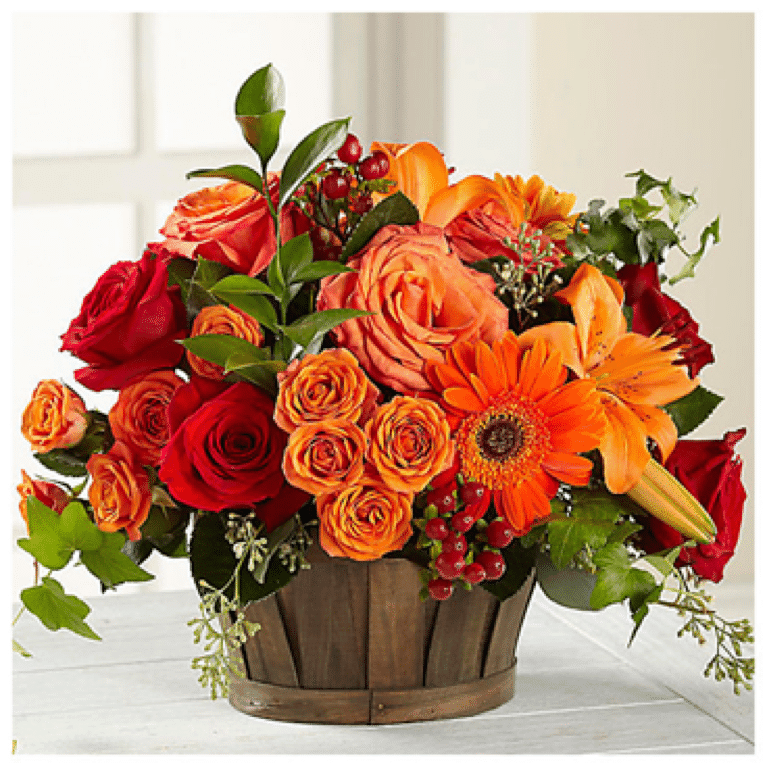 12 Beautiful Thanksgiving Flower Centerpieces