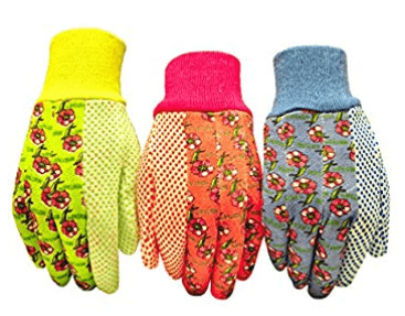 G & F Women's Soft Jersey Garden Gloves