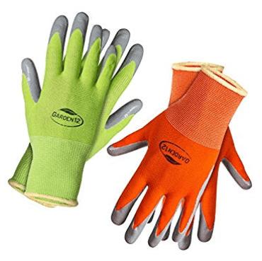 Hypoallergenic Nylon Gardening Gloves for Women