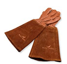 Leather Rose Pruning Gloves
