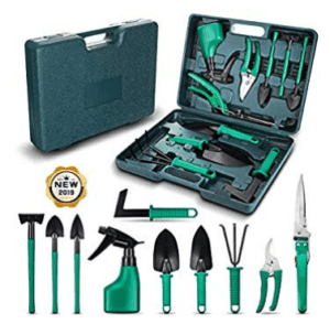 NASUM 10 PIECES GARDEN TOOLS SET
