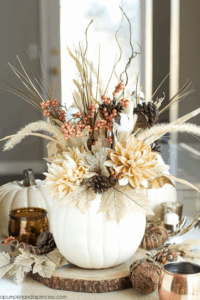 modern thanksgiving centerpiece