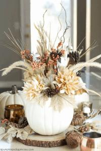 modern thanksgiving centerpiece